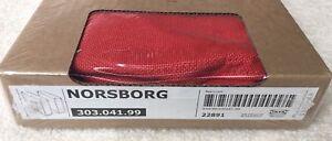 IKEA NORSBORG COVER for Armrests Slipcover ONLY FINNSTA RED NIB 303.041.99