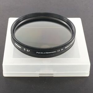 Heliopan S 67mm Pol.lin Polarizer Filter for Bronica SQ-A Canon Nikon Minolta