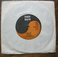 """VG+ PAUL DAVIDSON - I need you - & MIGHTY CLOUD Don't mind - Tropical 7"""""""