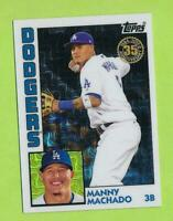 2019 Topps Silver 35th Anniversary 1984 - Manny Machado (T84-15)  Dodgers