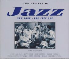 The History Of Jazz New York The Jazz Age 2 CD-Box Various Artists