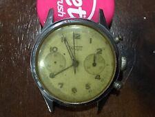 Vintage Fludo chronograph 17 jewels wrist watch