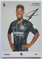 ⭐⭐⭐⭐ Jonathan De Guzman ⭐⭐⭐ Autogramm Autogrammkarte ⭐⭐⭐ Eintracht Frankfurt⭐⭐⭐⭐