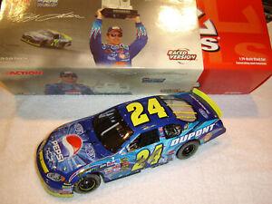 Jeff Gordon #24 Pepsi / SHARDS RACE WIN TALLADEGA '04 Action Mac Tools 1/24 NEW