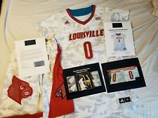 Terry Rozier 2014 Louisville Cardinals Armed Forces Game Worn Jersey Photomatch
