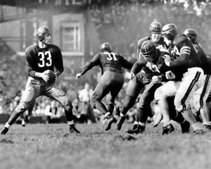 Washington Redskins Quarterback SAMMY BAUGH Glossy 11x14 Photo Football Print