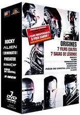 7247 // ORIGINES 7 FILMS CULTES, 7 SAGAS DE LÉGENDE 7 DVD EN TBE