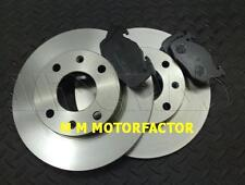 PEUGEOT 106 (91-03) 1.0 1.1 1.4 1.5D FRONT 2 BRAKE DISCS AND PADS SET NEW
