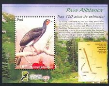 Peru 2005 White-winged Guan/Birds/Nature/Conservation/Endangered 1v m/s (n34812)