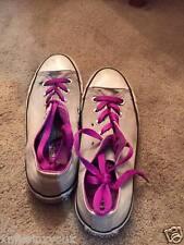 Size 4 Converse Sneakers Purple Gray