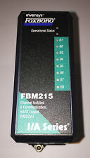 Foxboro Invensys FBM215 8 Channel, Hart Communications Output, Isolated