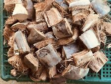 100% Natural Coconut Husk fiber, Chips for flowers & plants + Free Shipping