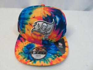 New Era 2020 Youth NFL Tampa Bay Bucs Crucial Catch Hat Cap 9FIFTY Snapback