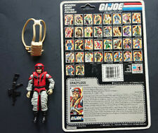 G.I. Joe ARAH Crazy Legs Action Figure Hasbro w/ file card ( see gun)