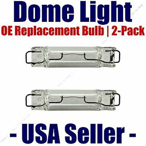 Dome Light Bulb 2-Pack OE Replacement - Fits Listed Isuzu Vehicles - 561