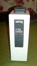 WARING ELECTRIC ICE CRUSHER VINTAGE MODEL EC-1 RETRACTABLE CORD WORKS GREAT