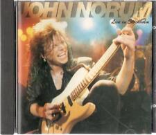 John Norum, Live In Stockholm; 4 track CD