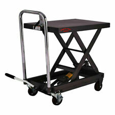 More details for hydraulic table lift mobile 450 kgs cart platform table scissor lift trolley