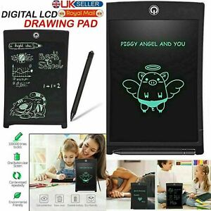 "8.5"" Electronic Digital LCD Writing Tablet Drawing Board Graphics for Kids Gift"