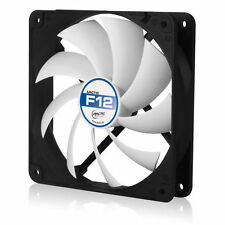 Arctic Cooling F12 120mm Arctic F Low Noise PC Computer Case Fan (Black / White