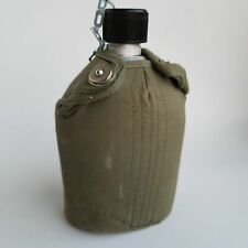 Vintage Military Type Water Bottle Camping Hiking Canteen Made in Japan