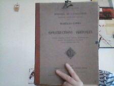 Architecture   Modèles-Types de Constructions agricoles Fermes, 2 vol. 1920?