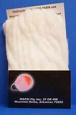 Egg Yarn Ei-Fliegen Egg Sucking Leech Wapsi USA Egg Yarn neu* FLESH