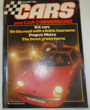 Cars Magazine Kit Cars & Project Metro June 1981 022615r2
