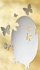 Spiegel Klebespiegel Wandspiegel 5tlg. Schmetterling Spiegelfolie Wandtattoo