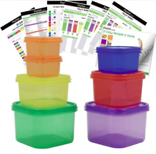 21 Day Fix Portion Control Containers Kit Meal Food Plan Weight Loss Diet Body