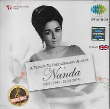 Nanda - A Tribute To The Legendary ACTRIZ - Nuevo Bollywood SARE GAMA 2 Cd Juego