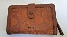 The SAK Silverlake Medium Floral Emboss Wallet 108345