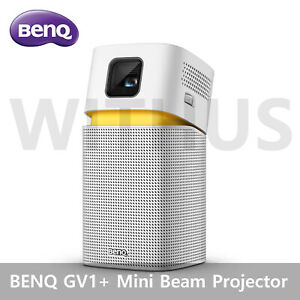 BENQ GV1+ Mini Beam Projector Portable Projector with HDMI to USB C Adapter
