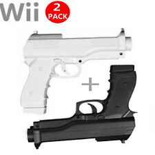 2x Light Gun Pistol Shooting Sport Video Game for Nintendo Wii Remote Controller