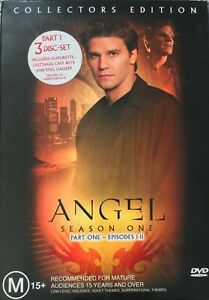 Angel Season 1 Part 1 and Part 2 Collectors Edition DVD Box Set Free Postage