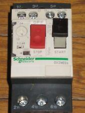 SCHNEIDER INTERRUTTORE  GV2ME06 SALVAMOTORE 1-1,6A MAGNETOTERMICO