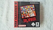 NINTENDO GAME BOY - DR MARIO NES CLASSIC (AUTHENTIC RED STRIP SEALED)