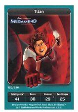 Carte Carrefour Dreamworks - Megamind - Titan  N°153