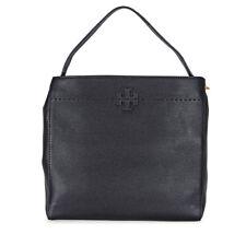 Tory Burch McGraw Leather Hobo Bag - Black