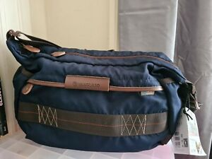 Vanguard Havana 36BL Camera Bag, Satchel Bag, Shoulder Bag, Blue (8038BL) NWT