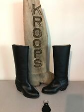 NEW A.M. Kroop & Sons Leather High Heel Exercise Style Boots Men's 1 Women's 3