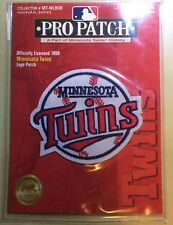 Minnesota Twins MLB ProPatch Limited Edition Official Logo Uniform Patch NEW