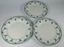 More details for losol ware keeling & co ltd kingston green blue / white side plates