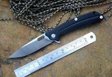 Y-START LK5013 BK, Ball Bearing, Liner Lock, Flipper Folding Knife - BLACK