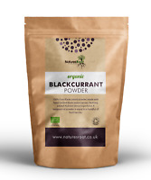 Organic Wild Blackcurrant Powder - Raw | Freeze-Dried | Vegan | Fruit Flavouring