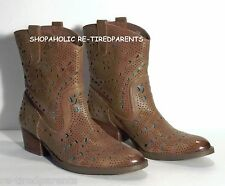 REBA - DESIGNER BOOTS – GENUINE LEATHER - ANKLE/MID-CALF – SIZE 6½ M - NEW $159