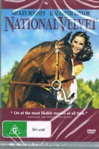 National Velvet DVD Mickey Rooney Elizabeth Taylor New and Sealed Australia