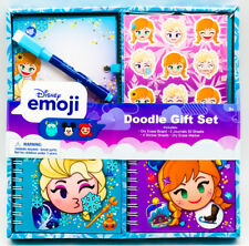 NEW Disney's Frozen Queen Elsa and Princess Anna Emoji Doodle Gift Set Stickers