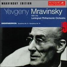 Shostakovich: Symphony No. 6; Symphony No. 10 Volume 9 (CD, Melodiya) Germany