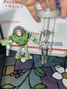 Disney Thinkway Buzz Lightyear Action Figure Arm Moves & Woody McDonald's Puppet